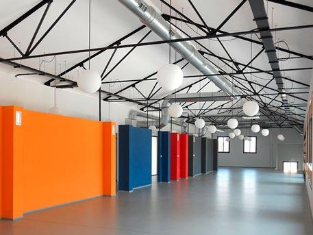 espacio polivalente arquitecto griñan montealegre arquitectura
