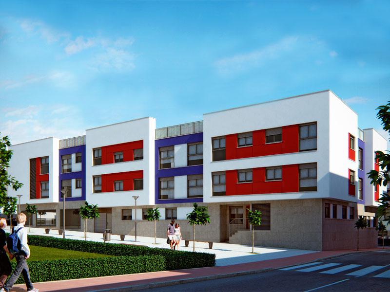 Edificio en Velez Rubio sgm arquitectos