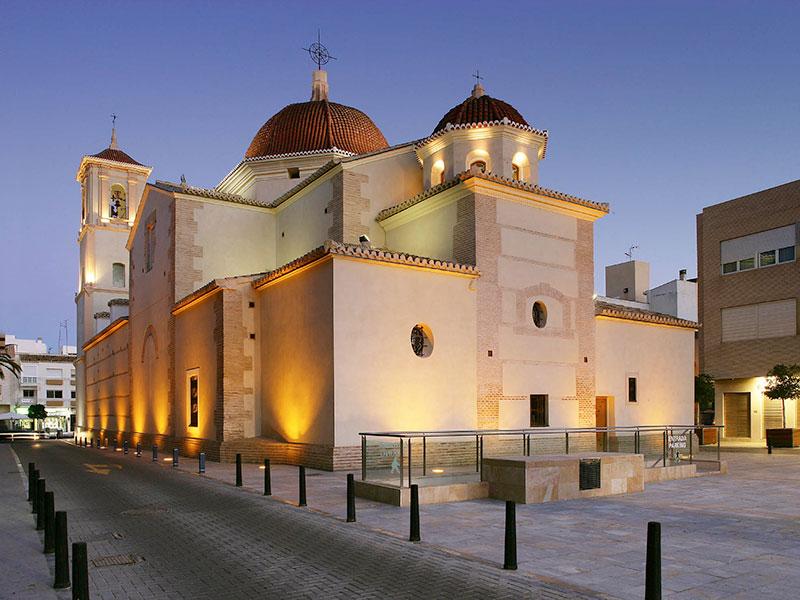 restauracion iglesia de san javier por el arquitecto salvador griñan montealegre
