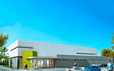 pabellon deportivo en El mirador sgmarquitectos salvador griñan montealegre arquitectos en murcia