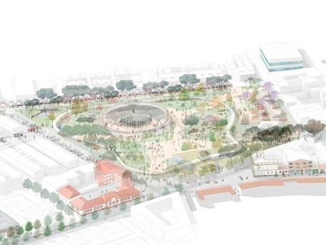 parque almansa san javier salvador griñan montealegre sgmarquitectura arquitectos en murcia