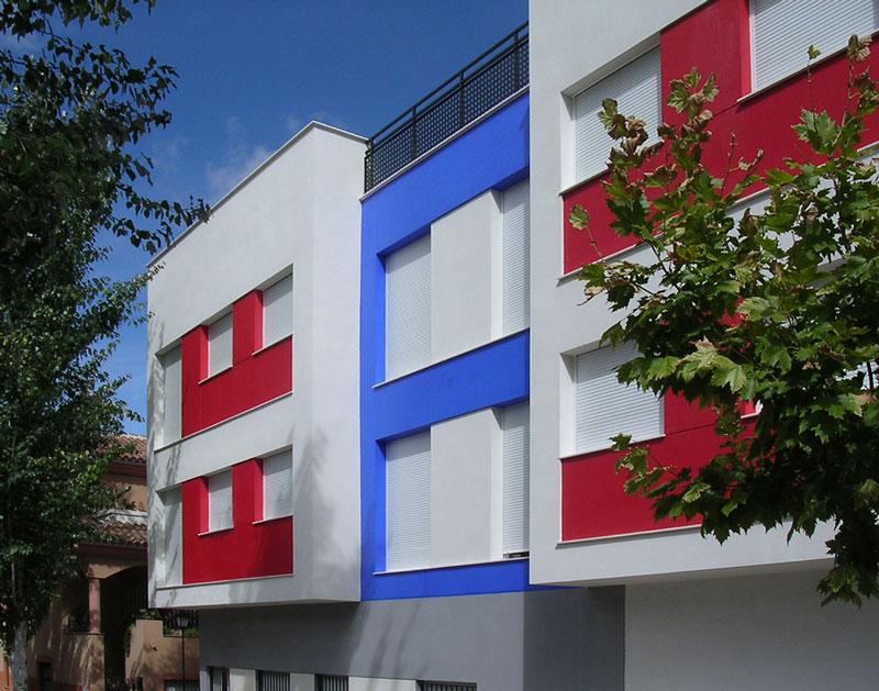 Edificio en Velez Rubio sgm arquitectos salvador griñan montealegre arquitecto