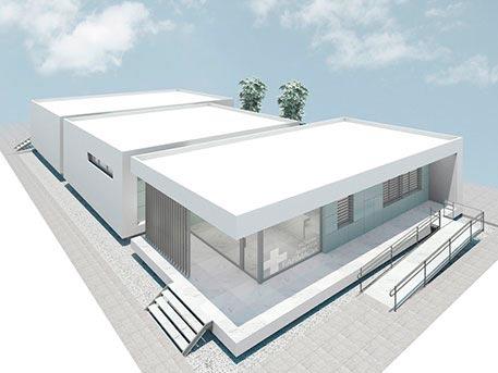farmacia en la alberca arquitecto salvador griñan montealegre sgmarquitectura arquitectos en murcia