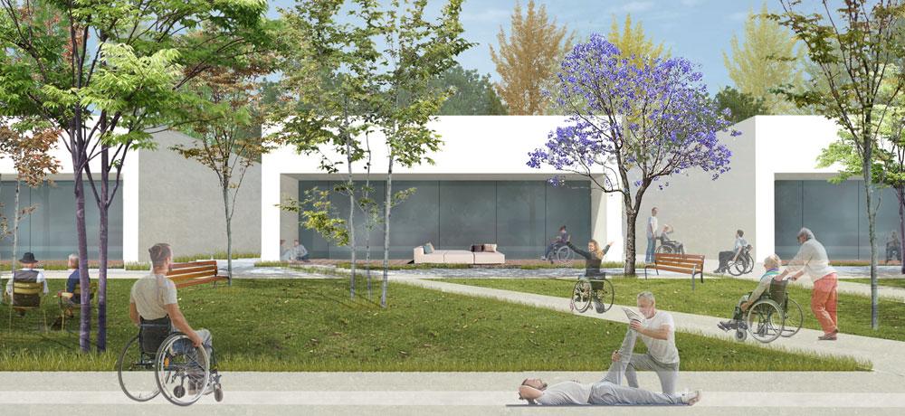 Concurso Aidemar. Centro de día y residencia. San Pedro del Pinatar (Murcia) 4-12-17